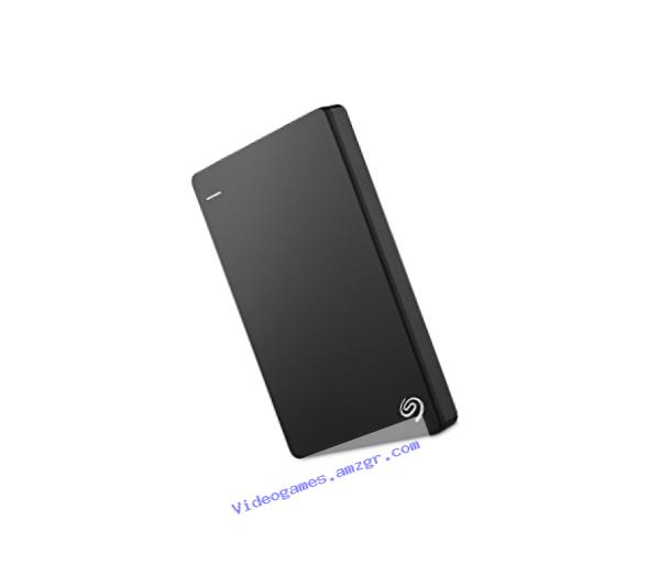 Seagate Backup Plus Slim 2TB Portable External Hard Drive USB 3.0, Black (STDR2000100)